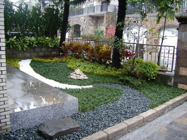 绿境景观工程行 - 庭园景观工程,中庭花园工程,空中花园,瀑布水池工程